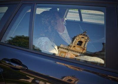 riflesso dall'auto