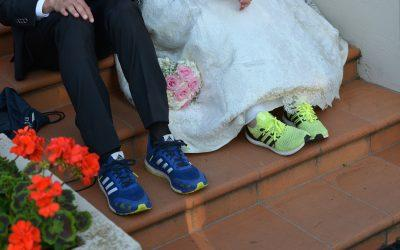 Laura e Andrea, due sportivi sposi a Torino